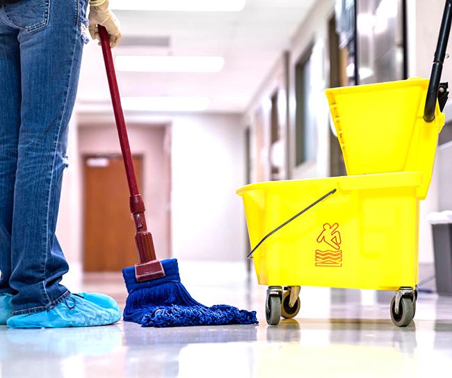 công tác vệ sinh trường học