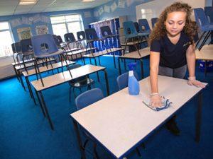 kế hoạch dọn vệ sinh trường học