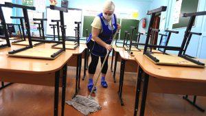 kinh phí vệ sinh trường học