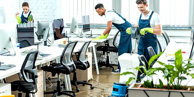 mô tả công việc vệ sinh văn phòng