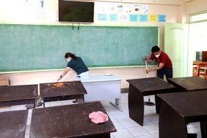quy định vệ sinh trường học